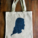 Silhouette Tote Bag Tutorial