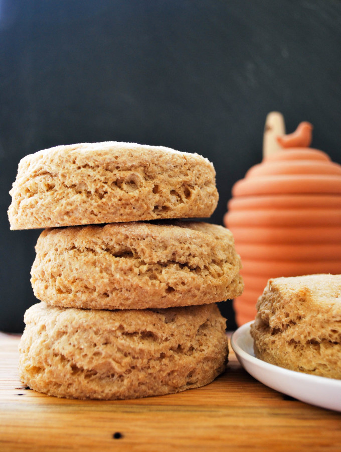 Easy Whole Wheat Buttermilk Biscuits-1