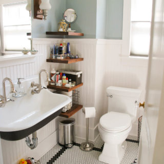 Bathroom Renovation // Before and After