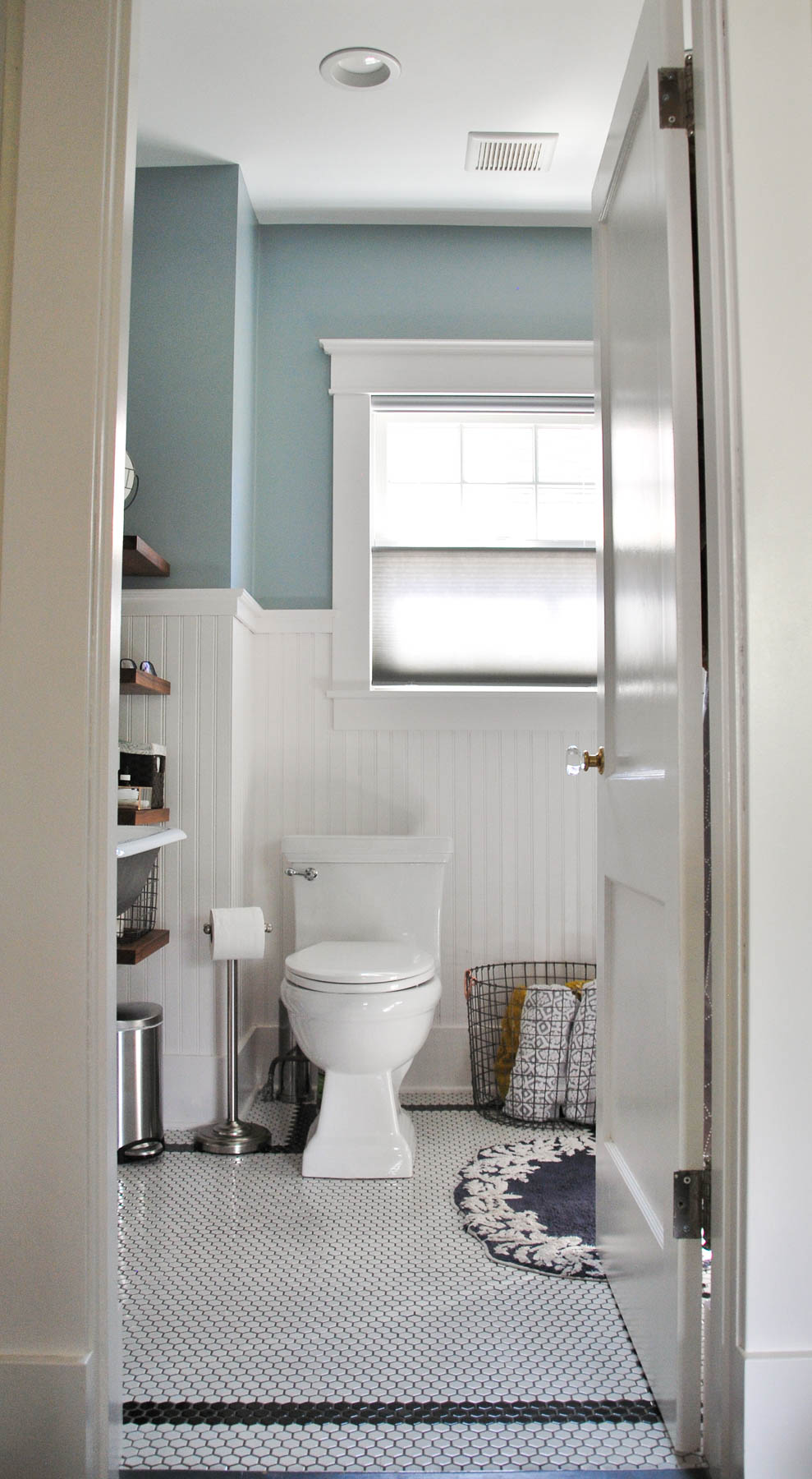 Bathroom renovation before and after shellymade How long does a bathroom renovation take
